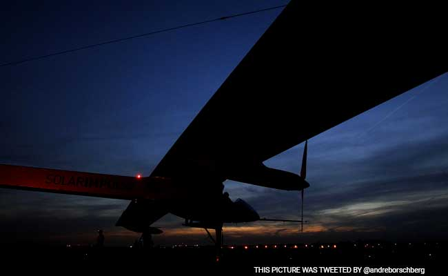 Solar Plane Reaches California After Flight Across Pacific