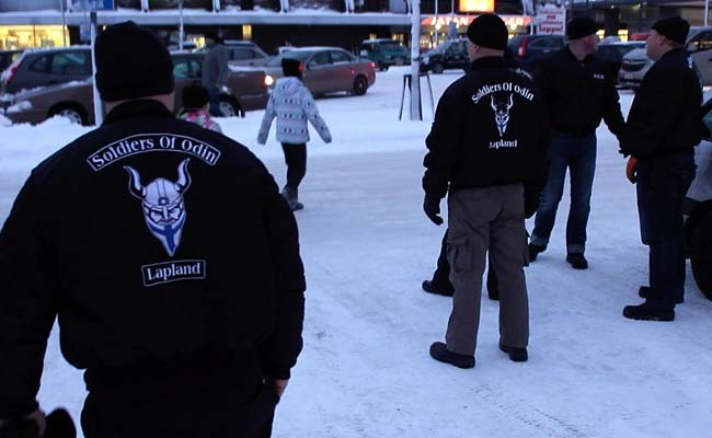 Finlands Soldiers Of Odin Face Off Against Huggy Ladies