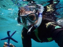 <I>Into the Blue</i>: See Sonakshi Sinha's Stunning Underwater Selfies