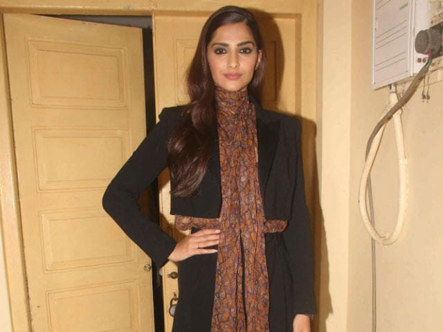 Sonam Kapoor Doesn't 'Work For Awards.' She Works For the 'Craft'