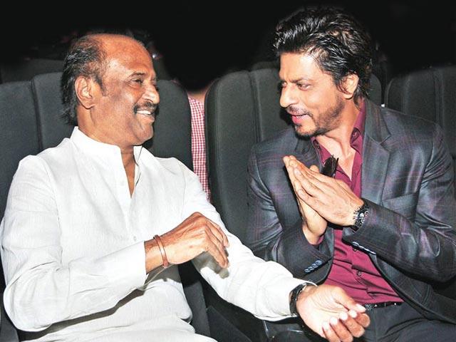 Shah Rukh Khan's Fanboy Tribute to Rajinikanth, Sachin Tendulkar