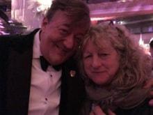 BAFTA 2016: Stephen Fry Asks Twitter to Keep Calm. 'Bag Lady Got the Joke'