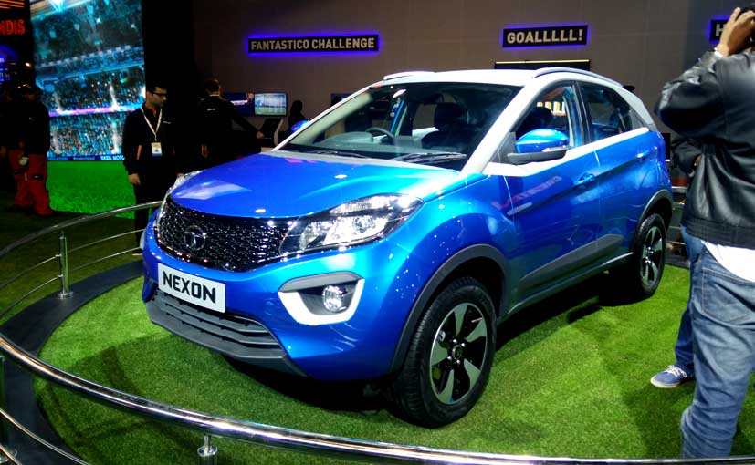 Upcoming Tata Nexon Compact SUV
