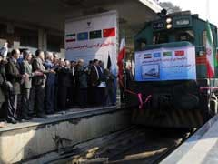 First 'Silk Road' Train Arrives In Tehran From China
