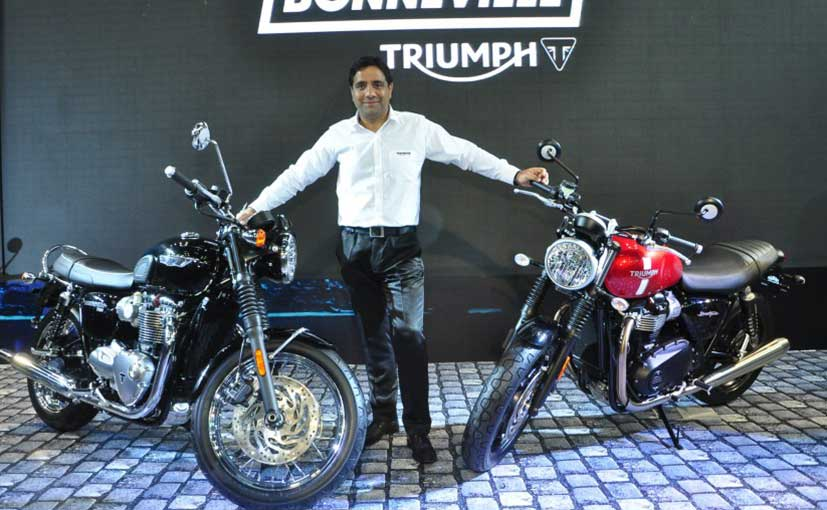 India Bike Week 2016: Triumph Unveils New Bonneville Range