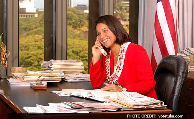 Congressional Caucus Working On Legislative Agenda For Indo-Us Ties: US Lawmaker Tulsi Gabbard