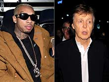 Tyga Offers to Escort Paul McCartney to Show After Grammy Party Snub