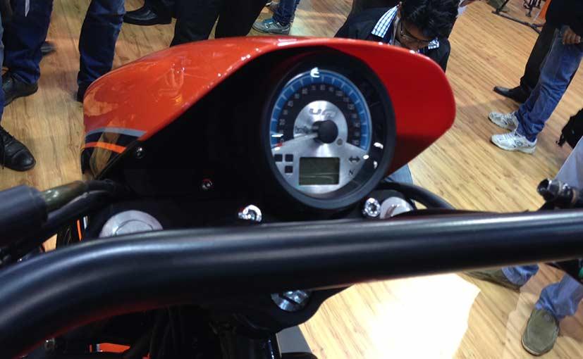 UM Renegade Sport S speedometer