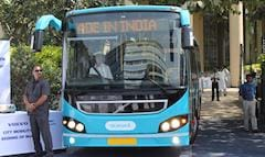 Volvo Delivers India's First Hybrid Bus to Navi Mumbai