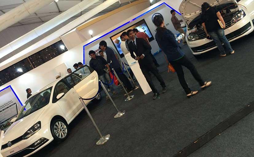 Volkswagen Ameo at Make in India week