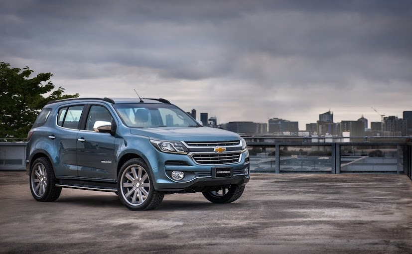 Chevrolet Previews 2017 TrailBlazer Facelift With Premier ...