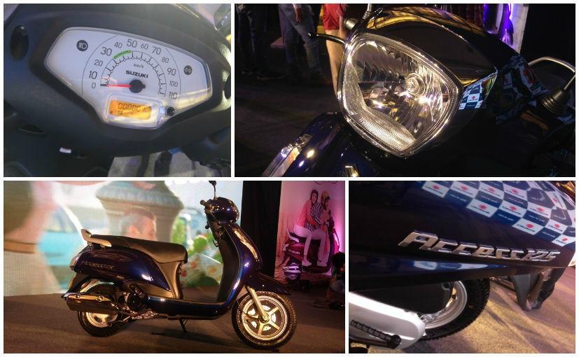 2016 Suzuki Access 125 looks
