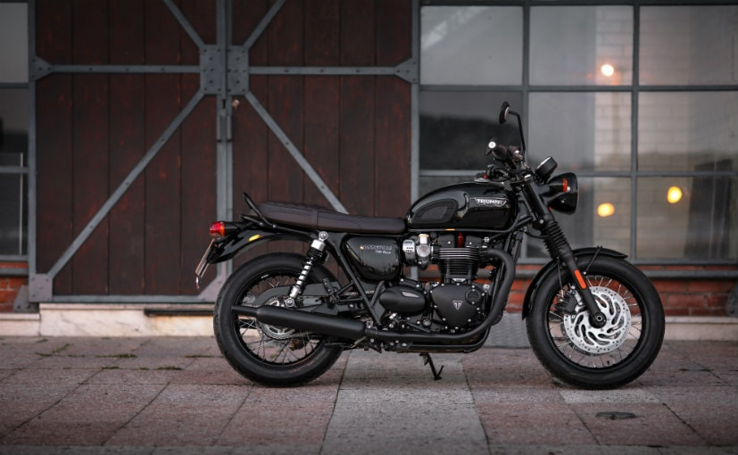 2016 Triumph Bonneville T120 Black First Ride Review Ndtv Carandbike