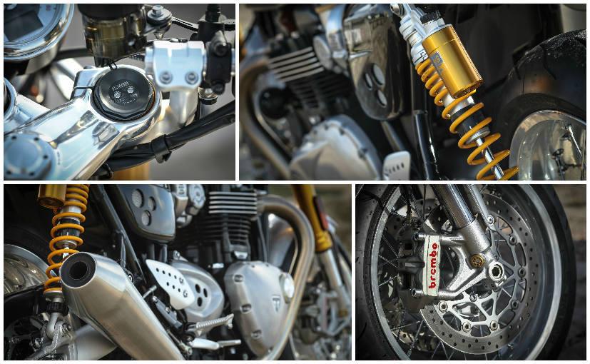 2016 Triumph Thruxton R Engine
