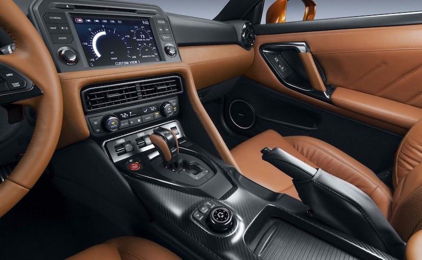 2017 Nissan GT-R Centre Console
