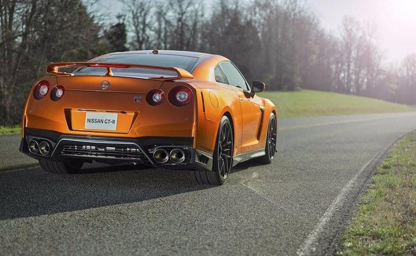 2017 Nissan GT-R Rear