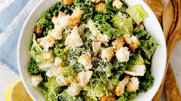 For a Better Caesar, Get Kale Into the Mix