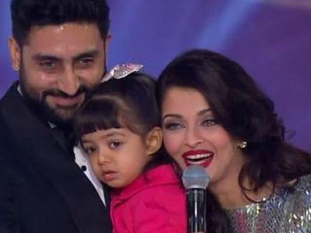 Abhishek Bachchan's Holi Celebrations With Aishwarya, Aaradhya