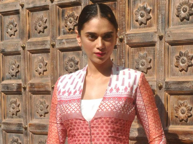 Aditi Rao Hydari Finds Link-up Rumours 'Entertaining'