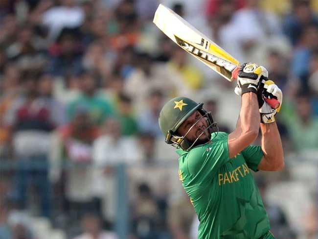 हफीज, शहजाद के बाद अफरीदी का 'तूफान', पाकिस्तान 55 रन से जीता