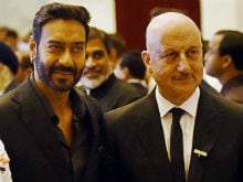 Padma Awards: Ajay Devgn, Anupam Kher Receive Honours