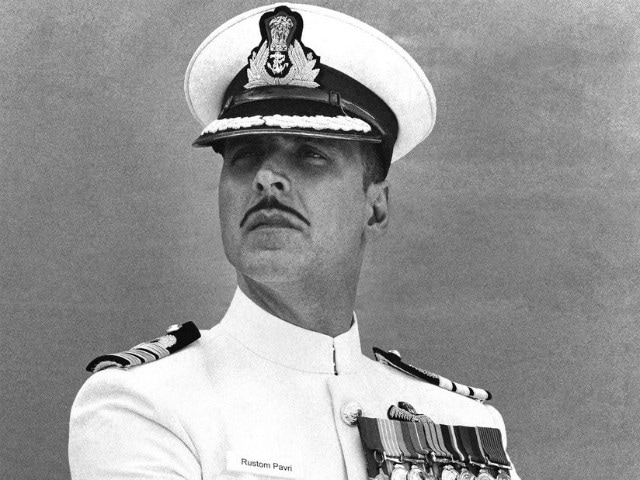 Akshay Kumar and Much Mystery in Rustom First Poster