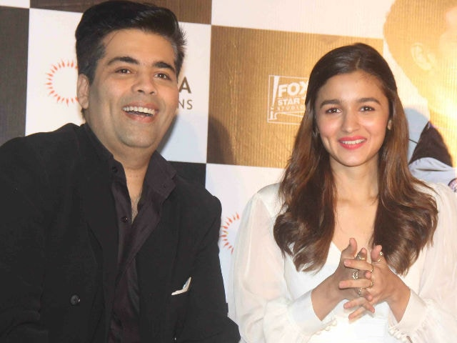 Alia Bhatt Has Done Amazing Films, Sorry For Shaandaar: Karan Johar