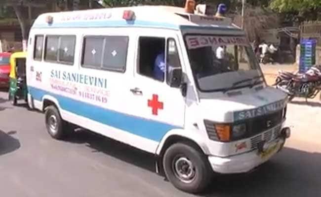 For VIP Ribbon Cutting, Ambulance In Emergency Stuck On Bengaluru Road