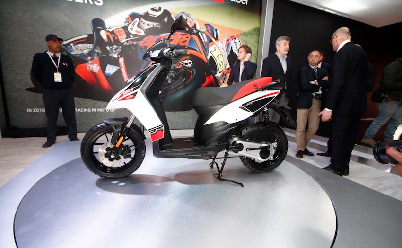 Aprilia To Introduce New SR Scooter In India By January 2017