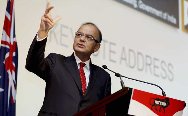 Arun Jaitley Invites Australian Businesses To Invest In India