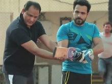 Emraan Hashmi Trains With Mohammad Azharuddin in This <I>Azhar</i> Video