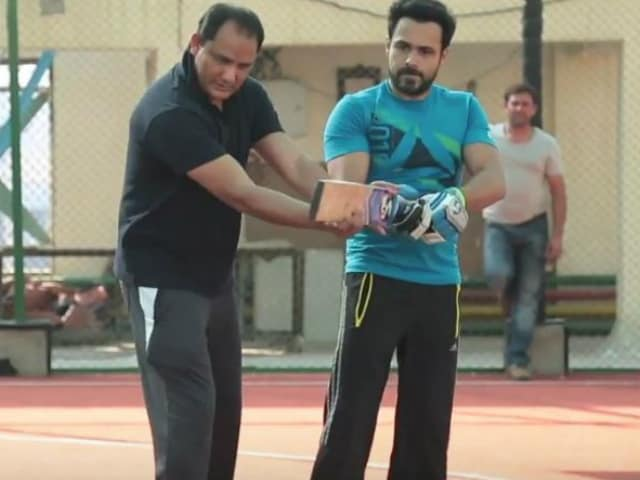 Emraan Hashmi Trains With Mohammad Azharuddin in This Azhar Video