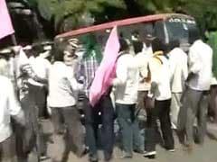 Bengaluru Roads Blocked During Rush Hour Amid Massive Farmer Protests