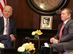 Vice President Joe Biden Meets With Jordan's King Abdullah, Key Mideast Ally