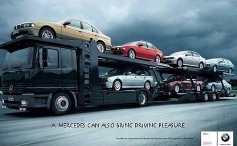 Mercedes benz congratulates bmw on its centenary ndtv for Comercial mercedes benz