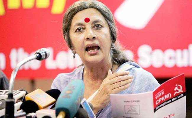 NIA Out On 'Fishing Expedition' In Kerala: Brinda Karat Amid Row On Hadiya Case