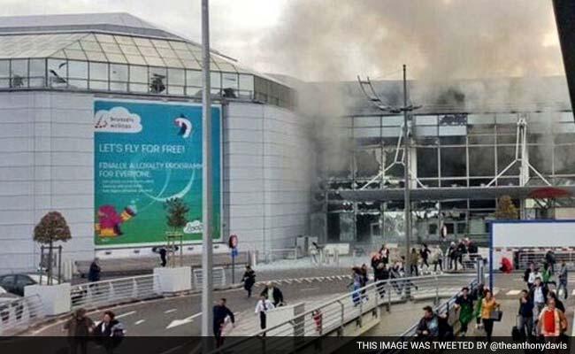 तस्वीरों में : बेल्जियम की राजधानी ब्रसेल्स आतंकवादी हमले से दहली