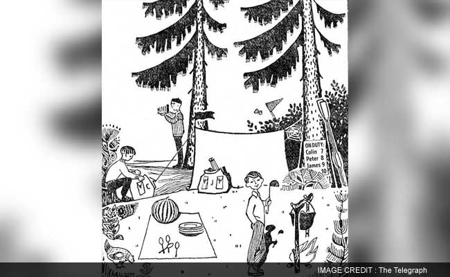 Many Adults Find This Viral Children's Camp Puzzle Hard. And You?