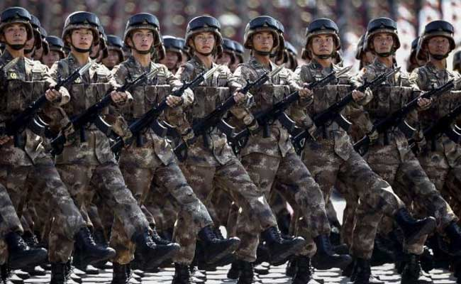 Military Parade Marks 90th Anniversary Of Chinese Army