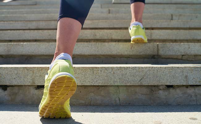 This Heart-Healthy Diet Requires You To Climb Stairs Vigorously and Snack