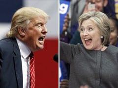 राष्ट्रपति पद के चुनाव में अपनी अपनी पार्टी के उम्मीदवार बनने के करीब पहुंचे ट्रंप, हिलेरी