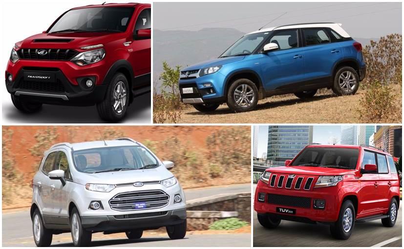 Mahindra NuvoSport Vs Maruti Suzuki Vitara Brezza Vs Ford EcoSport - Sports car comparison