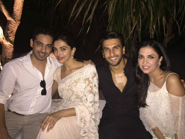 Deepika Padukone, Ranveer Singh's Bollywood-Style Revelry At a Wedding