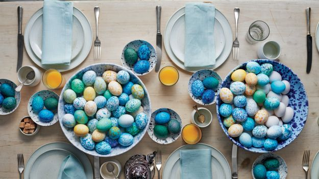 Martha Stewart on Easter, Paper Napkins and Serving Takeout