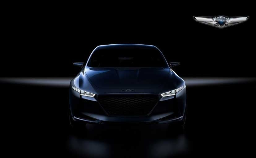 Hyundai Genesis Teases New Concept Sedan; Will Debut on March 23