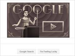 Google Pays Respect To Clara Rockmore On Her 105th Birthday With Doodle