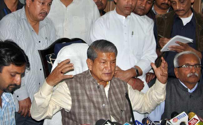 BJP Accuses Harish Rawat-Govind Singh Kunjwal Of 'Violating' Constitution