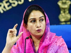 """Back Off From Rigid Stand, Listen To Farmers"": Harsimrat Kaur To Centre"