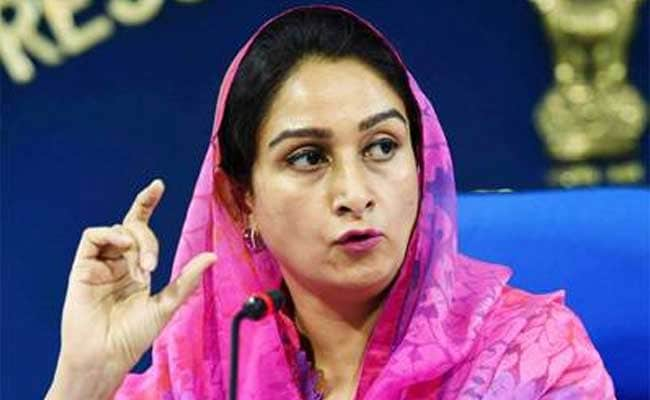 Kashmir Is A Part Of India. Have Clearly Told Pak Media: Harsimrat Badal