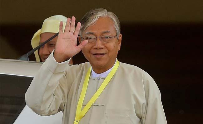 Myanmar President Htin Kyaw Pardons 83 Prisoners